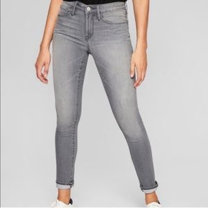 Athleta Skulptek jeans in grey wash SZ 2